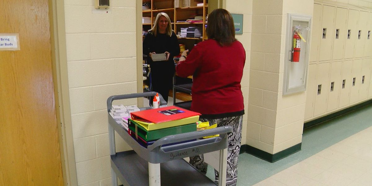 St. James Middle, High schools host school supply drive for S.C. school destroyed by tornado