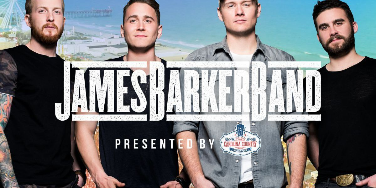 James Barker Band scheduled to perform at 2018 CCMF