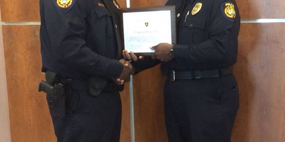 Georgetown officials awarded for saving lives of three house fire victims