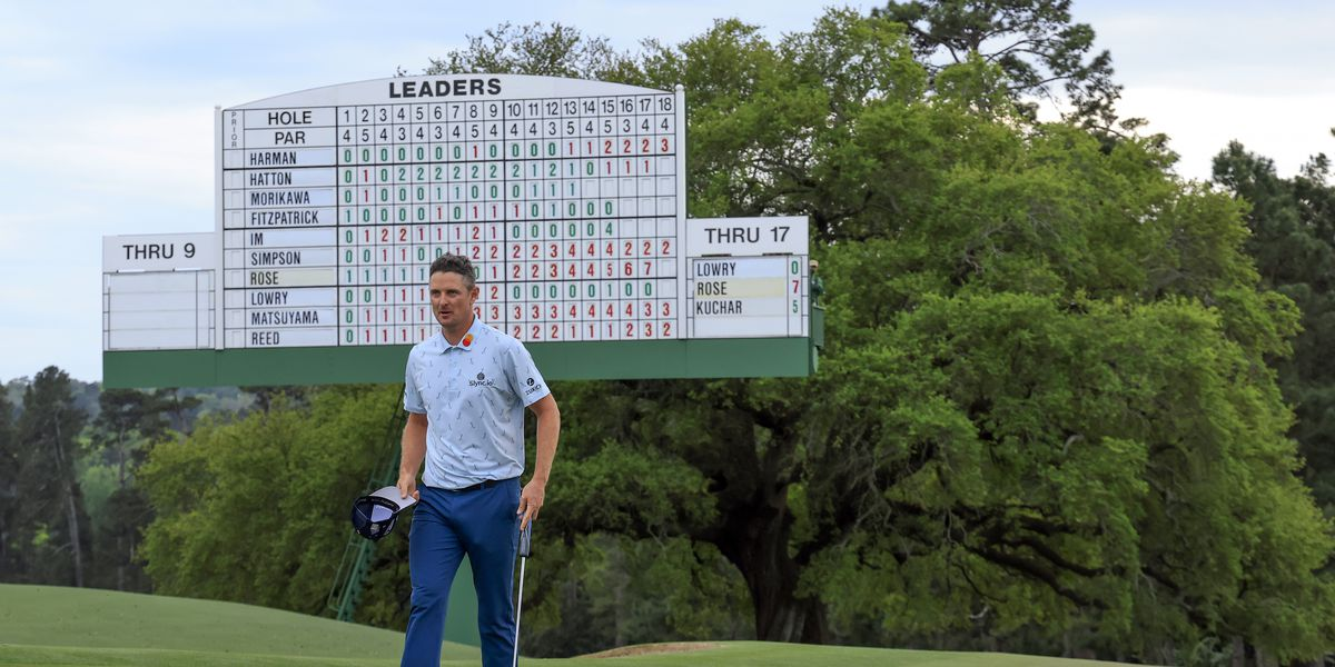 Rose torches tough Augusta for 65 and 4-shot Masters lead