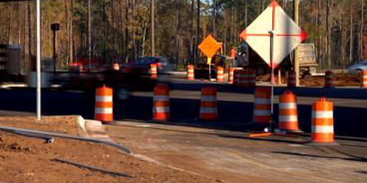 Crews scheduled to start backgate finishing touches into next week