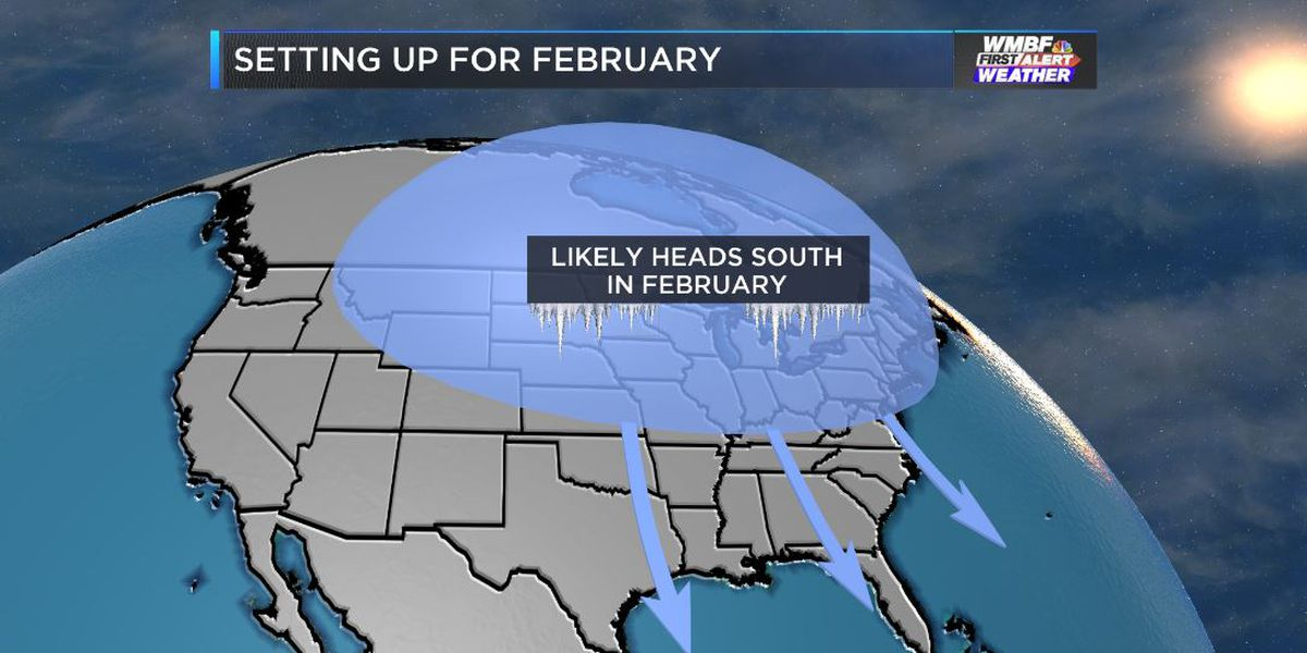 FIRST ALERT: Colder February pattern still looking likely