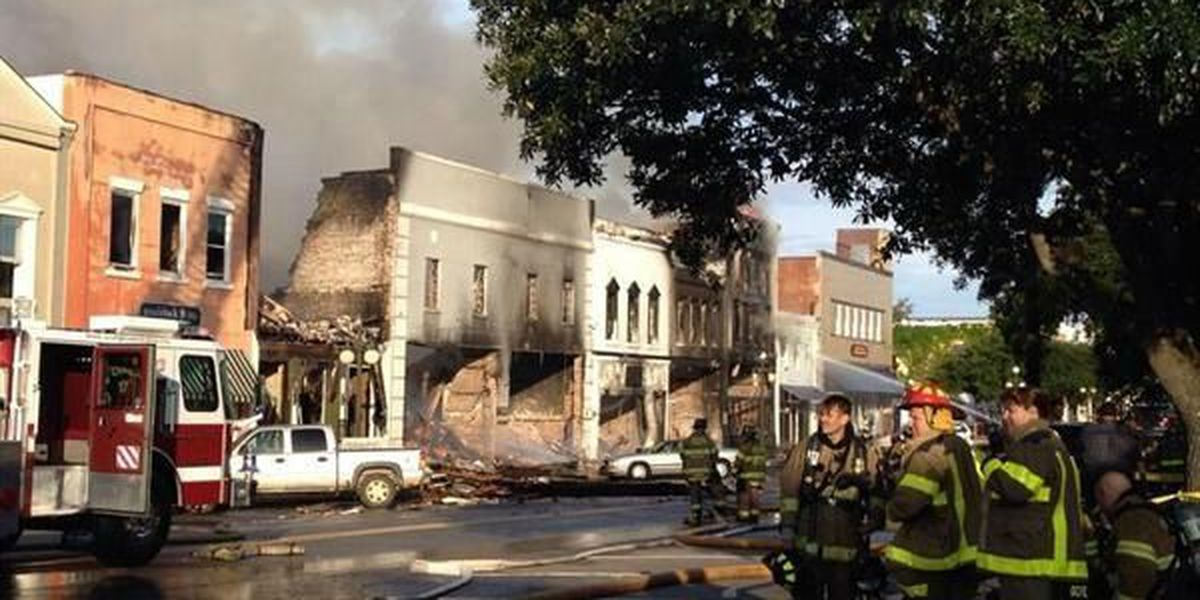 2 years after devastating Georgetown fire, historic district making progress