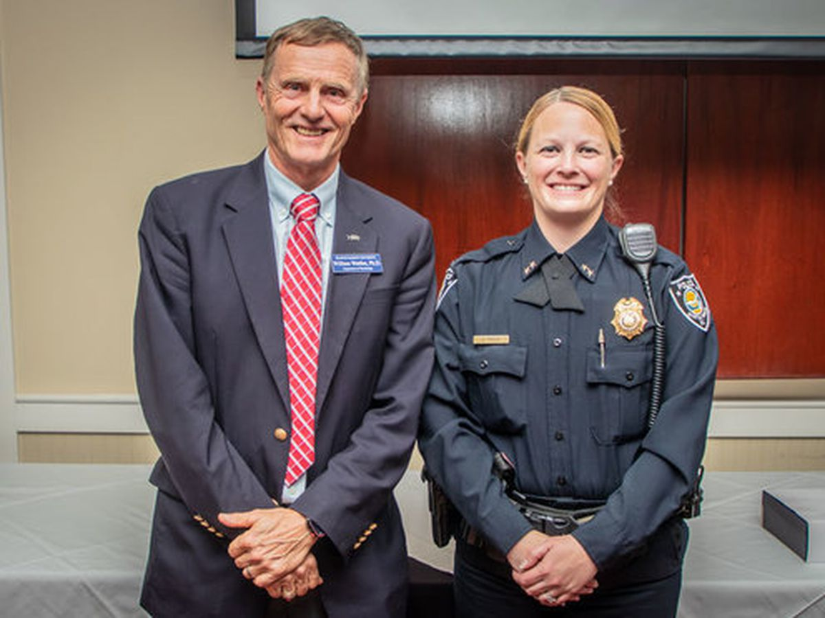Myrtle Beach police chief recognized as FMU's Psychology Alumni of the Year