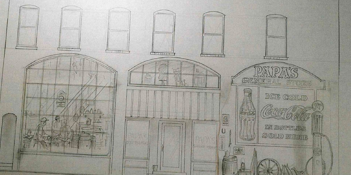 Mural design for Third Avenue in Conway revealed