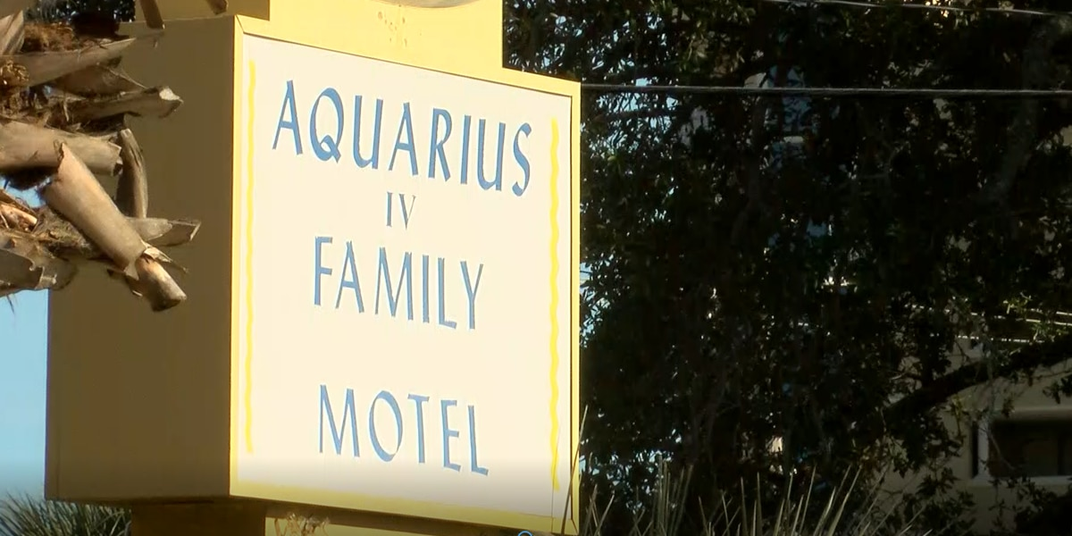 'That's not right': Aquarius Motel closing, gives residents short eviction notice