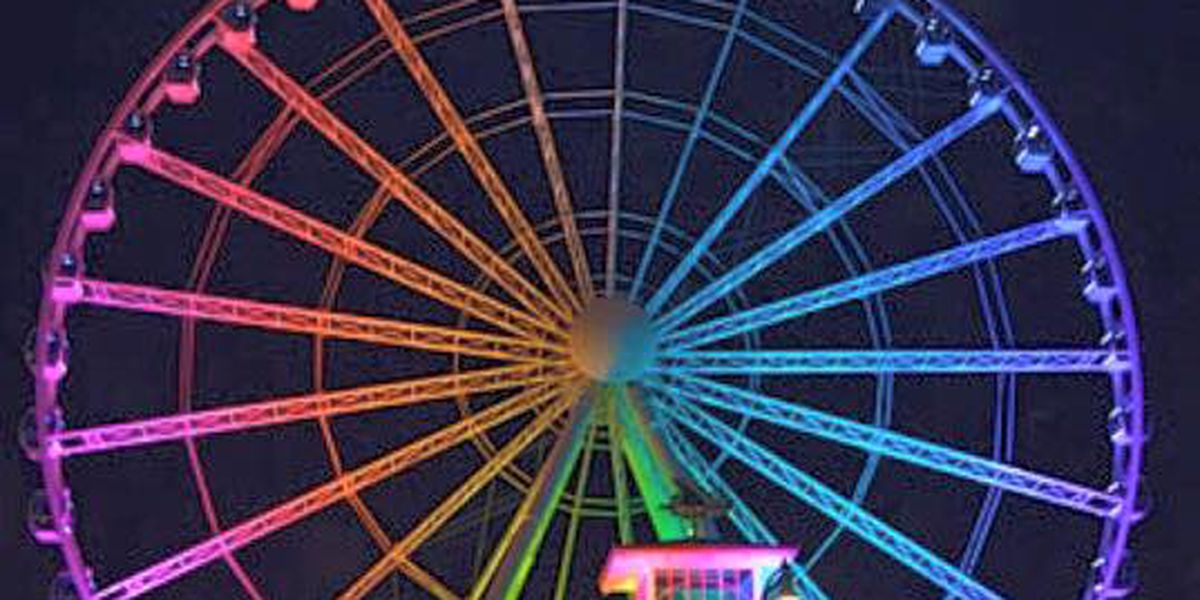 SkyWheel shows its colors in support of Orlando shooting victims