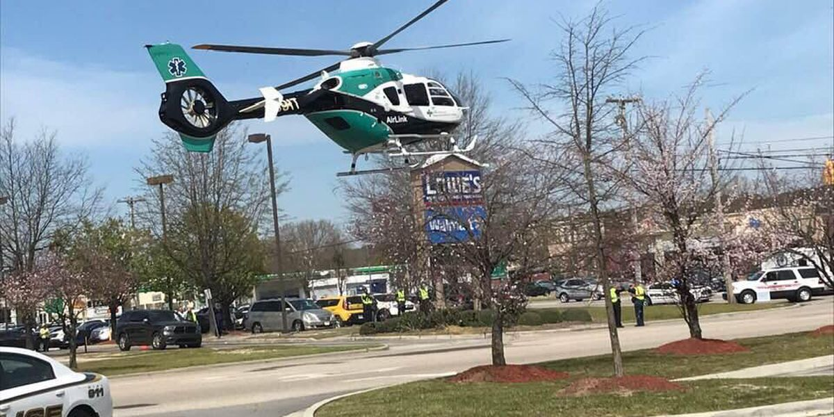 10-year-old boy among those flown to hospital after serious crash
