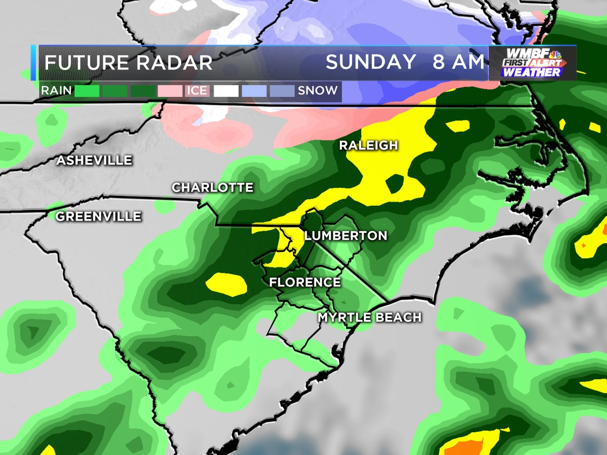 Cloudy skies and cold temperatures remain for start of the work week