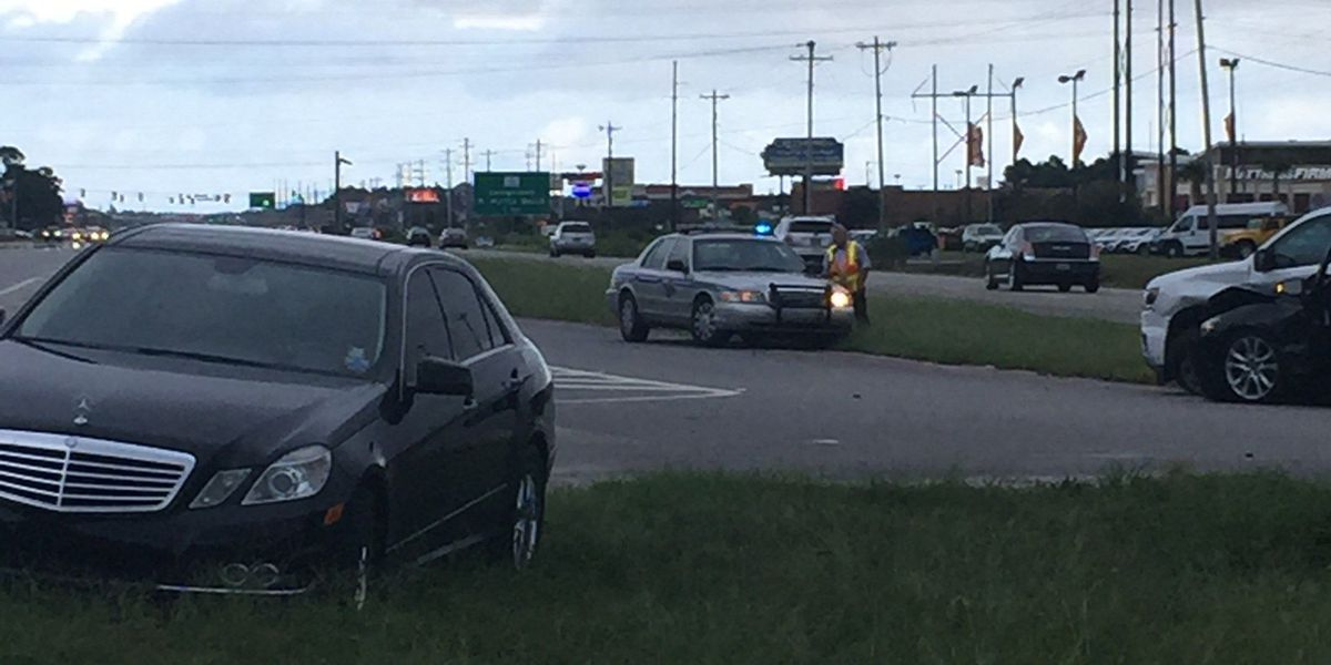 Accident caused lane closure on 501 Southbound Saturday