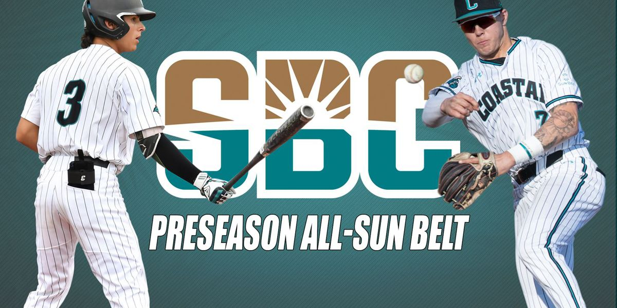 CCU picked to win East; Chavers, Weiss named preseason All-Sun Belt
