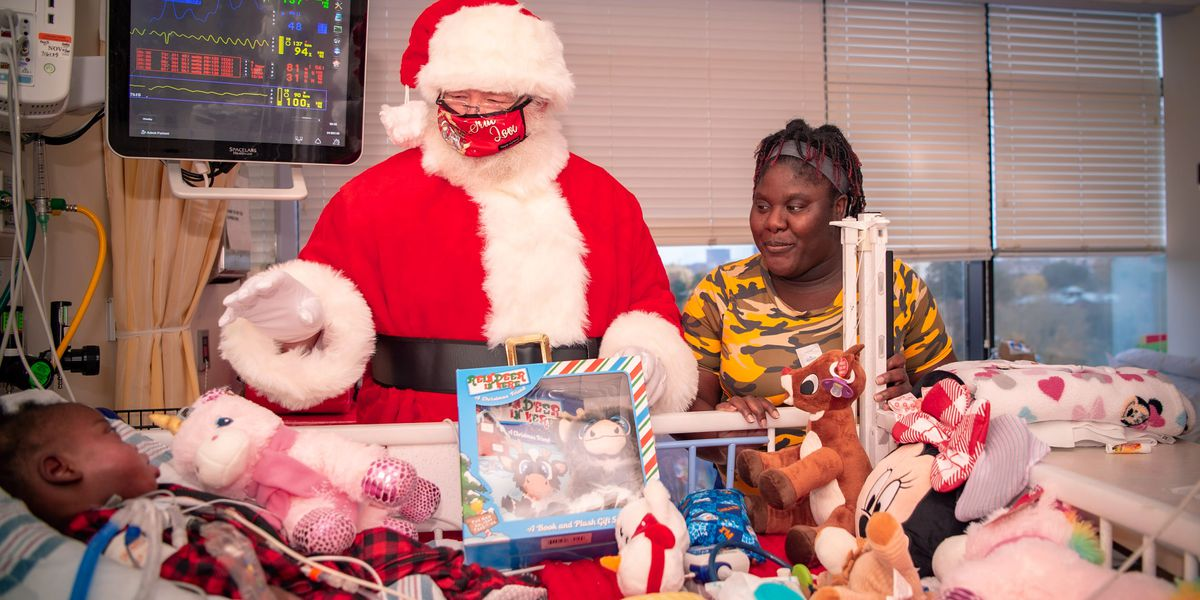 Santa makes Christmas Eve visit to Prisma Health Children's Hospital