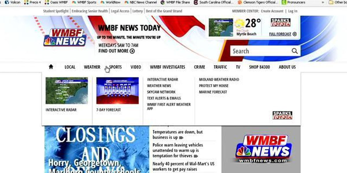 Consider This: Welcome to the new WMBFNews.com!