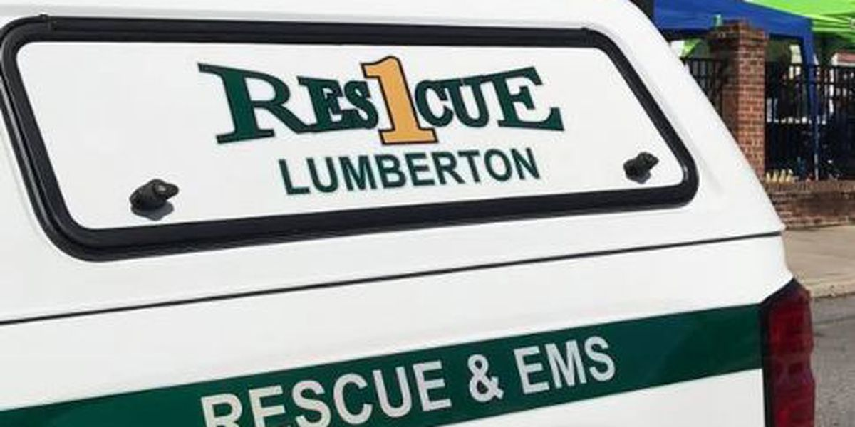 Performer responsive after collapsing during Lumberton community festival