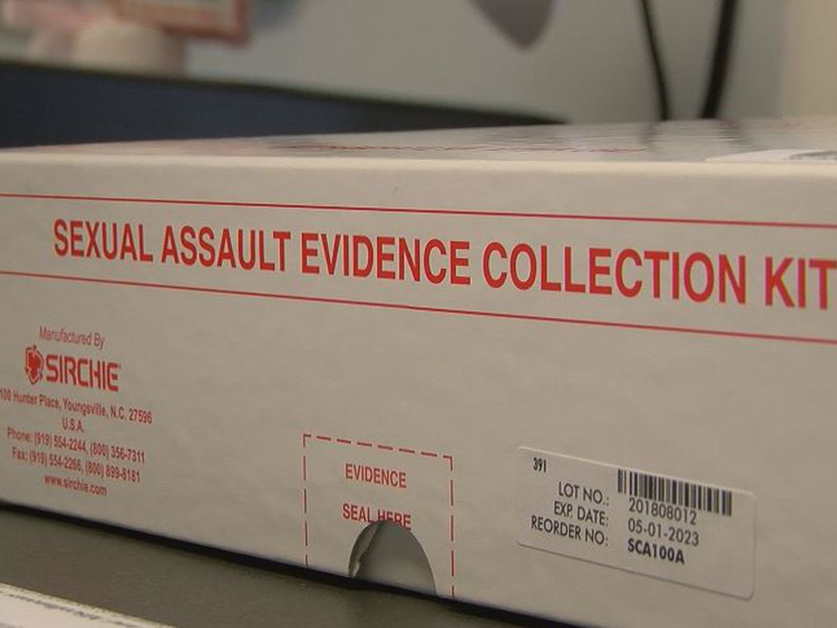 Dozens of rape kits untested in Florence County, some damaged due to Hurricane Florence