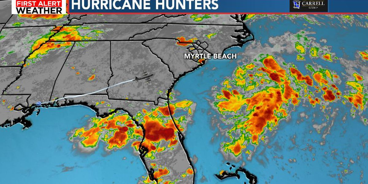 FIRST ALERT: Tropical depression likely to form off shore late today