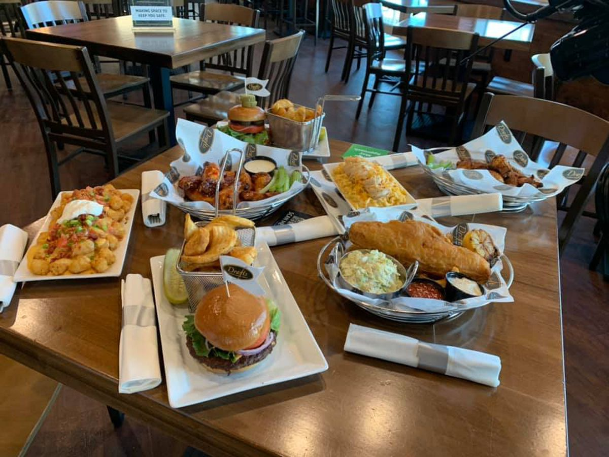 Dining With Dockery: Drafts Sports Bar & Grill