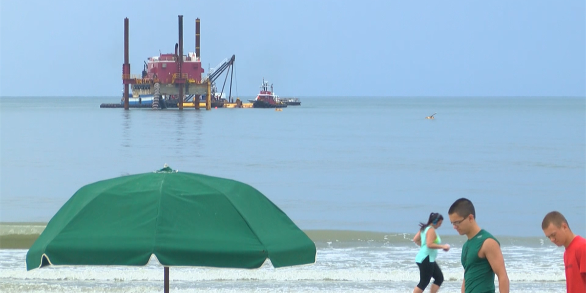 Surfside Beach renourishment project scheduled to resume this week