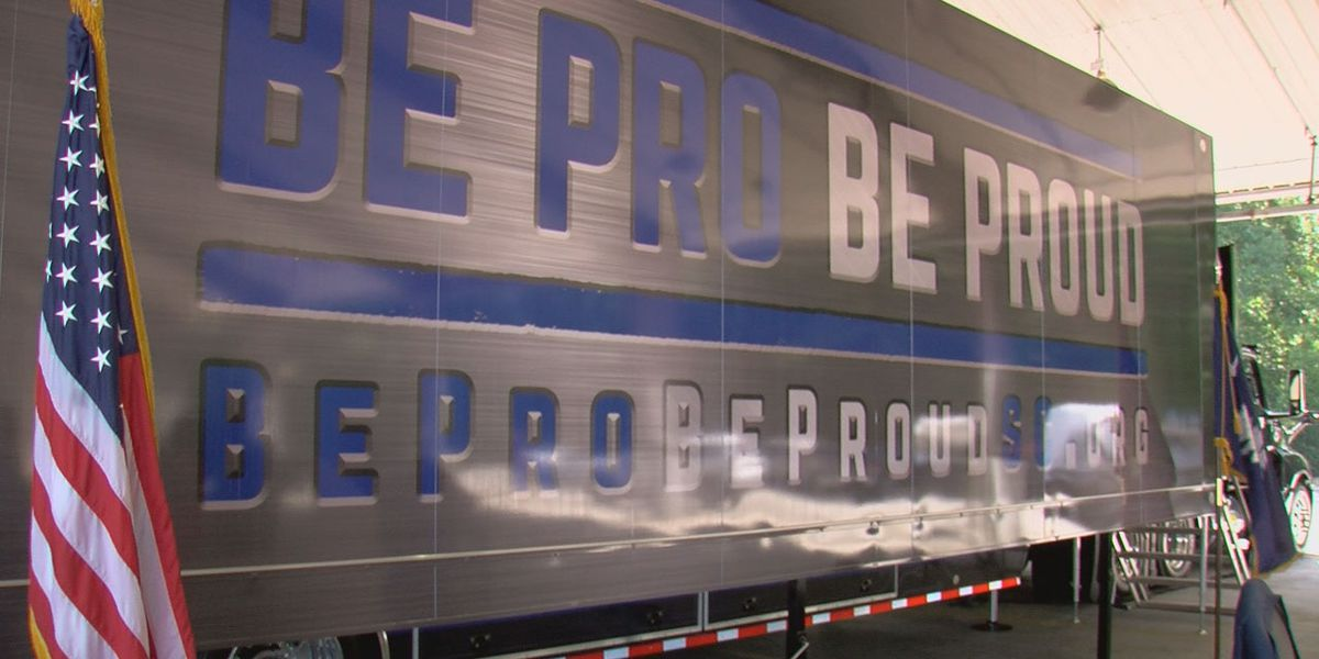 SC leaders unveil 53-foot, custom built trailer to help promote careers in the skilled trades