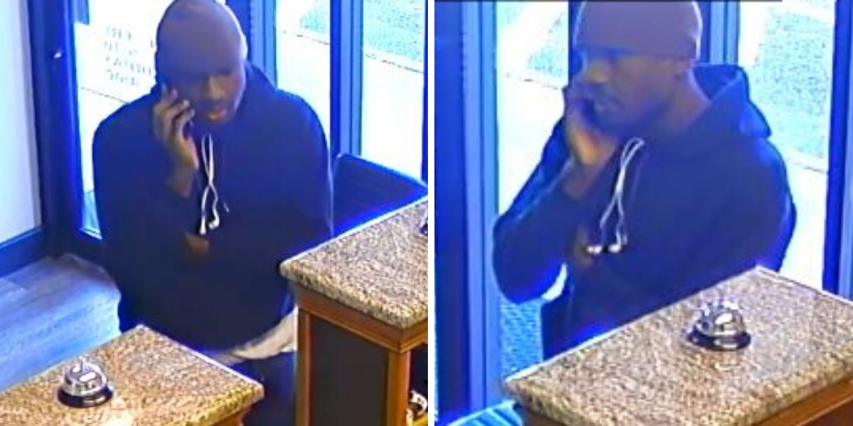 Man wanted for questioning after vehicle stolen from Florence title loans business