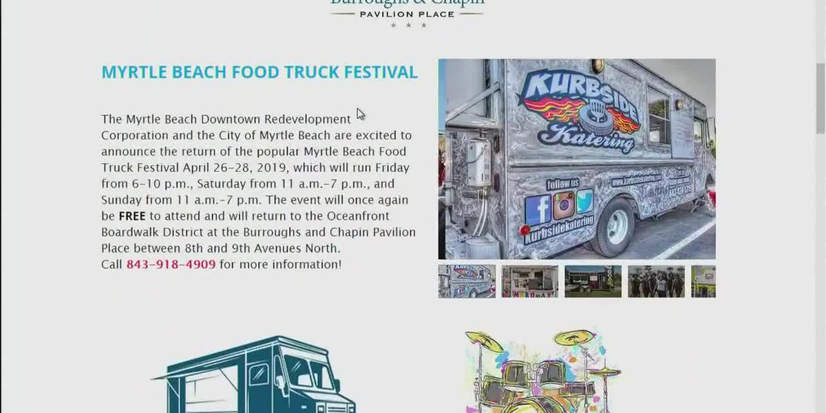 Today's Topic: Myrtle Beach Food Truck Festival