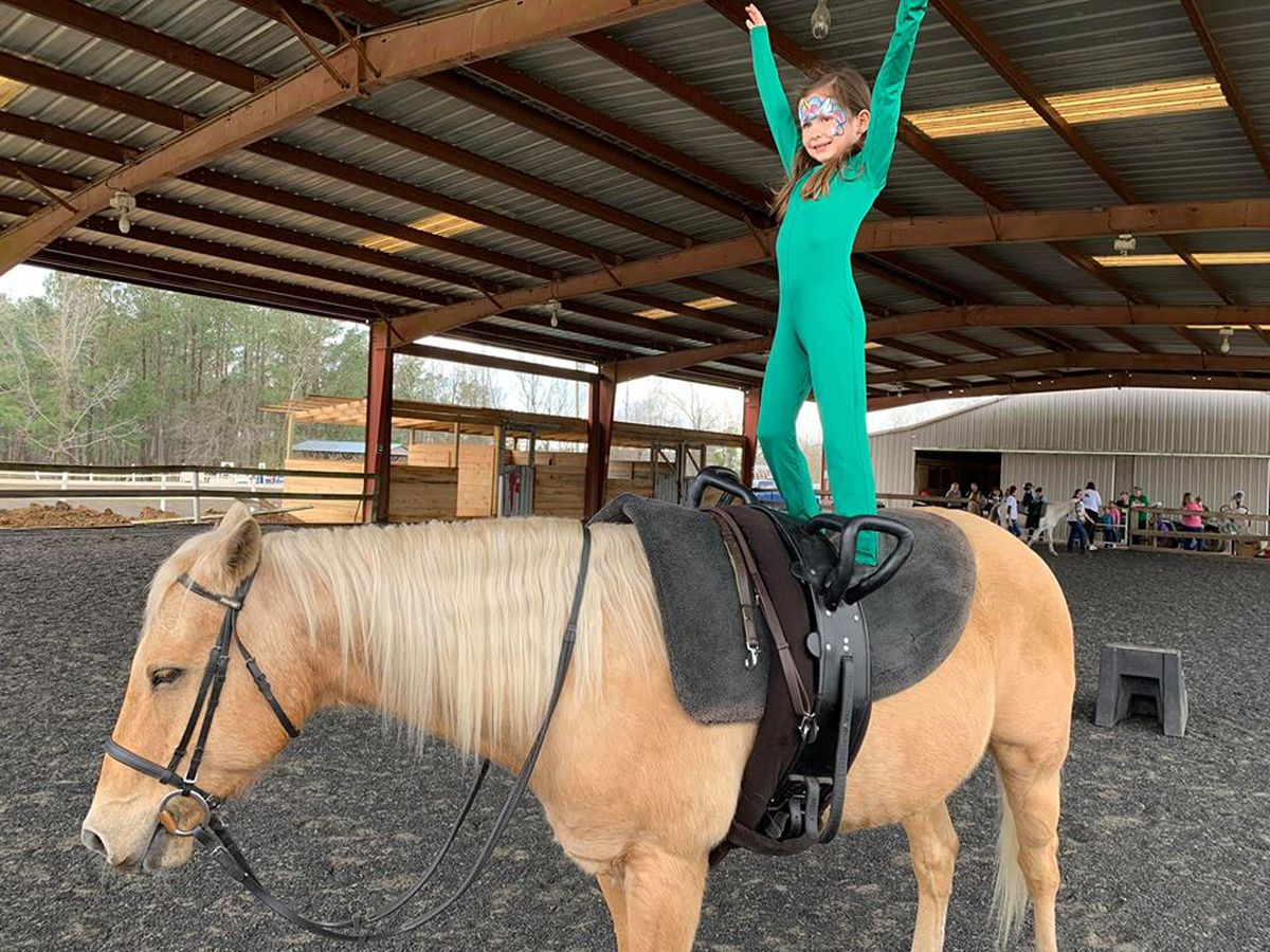 Saddle up: Conway group uses horseback rides as mental and physical therapy