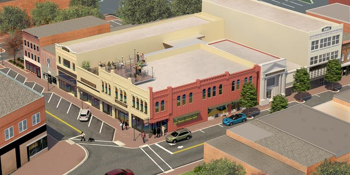 Housing, retail, dining coming to three-story building in Florence