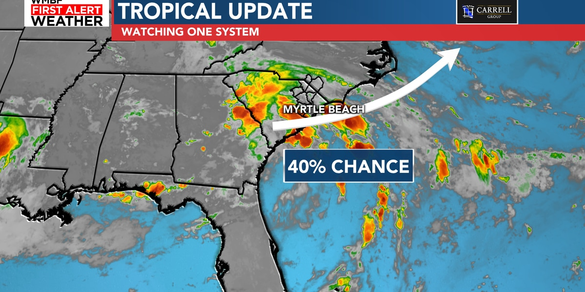 FIRST ALERT: Chance of tropical development continues for midweek