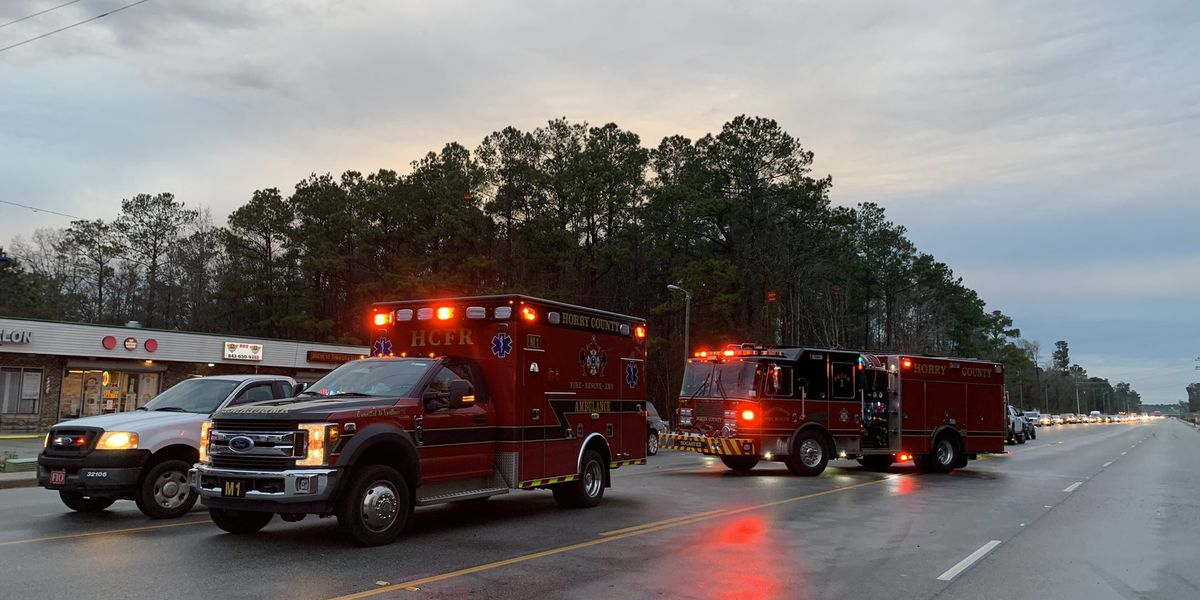 HCFR: Four-vehicle crash on Highway 707 sends one to hospital