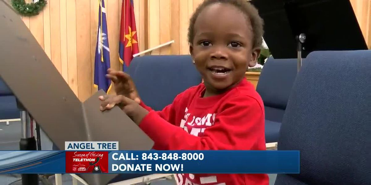 Conway family thankful for Salvation Army Angel Tree