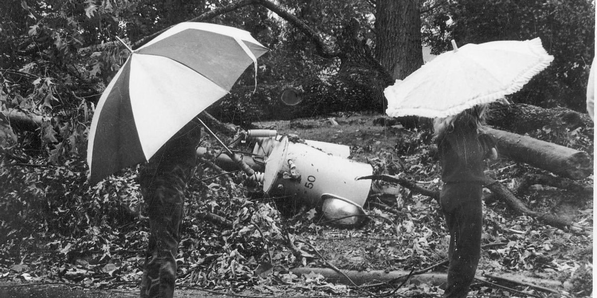 'It was really like a war zone': Remembering Hurricane Hugo's impact to the Pee Dee