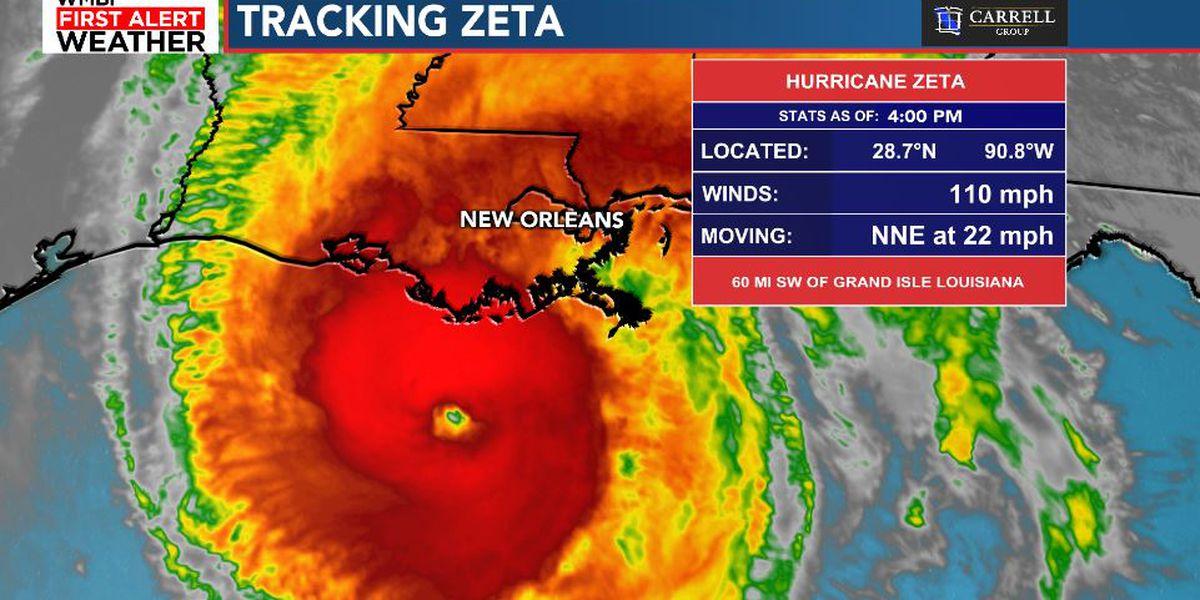 FIRST ALERT: Zeta impacts the Carolinas Thursday
