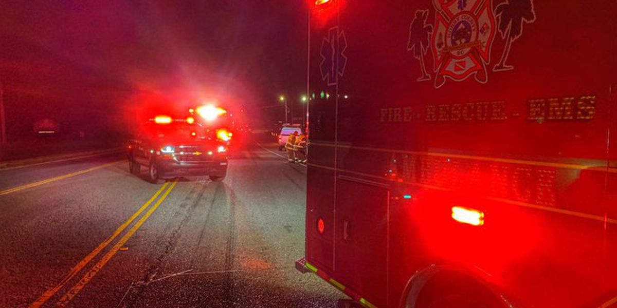 HCFR: Pedestrian hit by car on Highway 701 causes lane closures