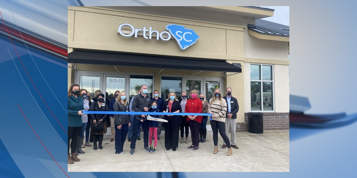 OrthoSC holds ribbon cutting for new Market Common location