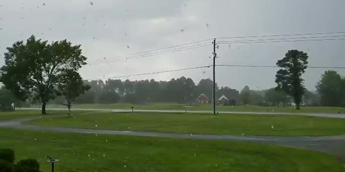 RAW: Heavy rain in Florence County