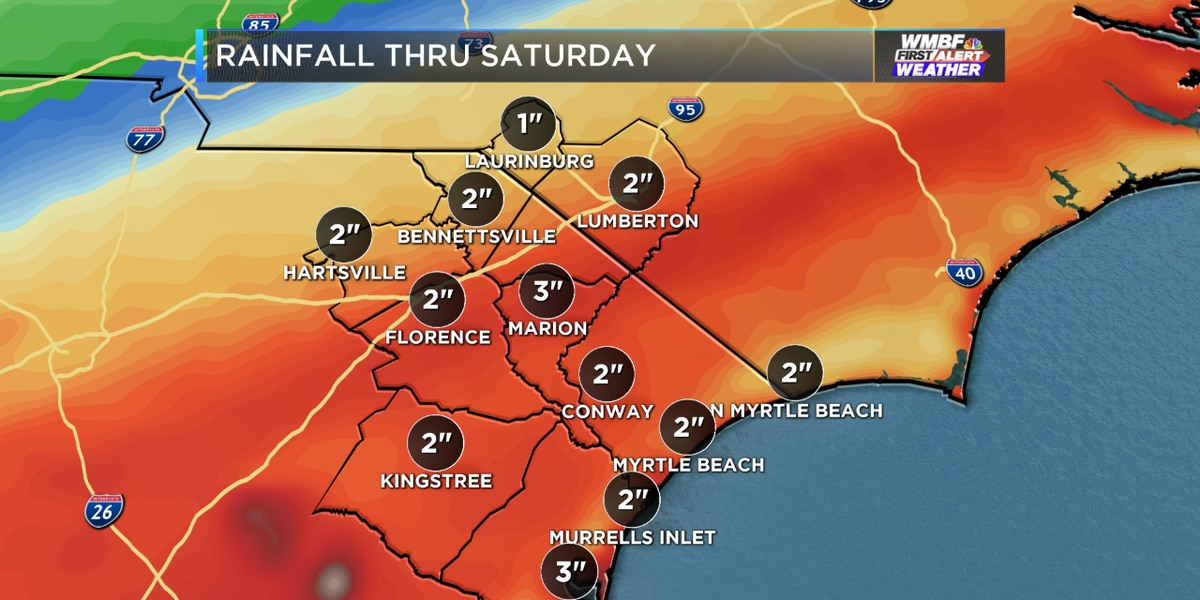 FIRST ALERT: Cold, soaking rain continues into the weekend