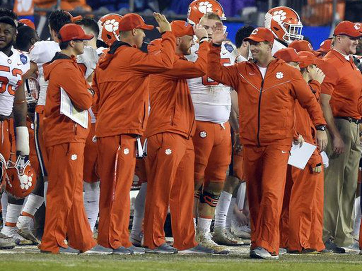 Clemson Tigers visit President Trump, White House after national championship win