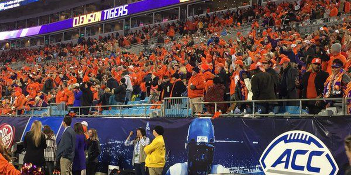 Clemson earns top spot in College Football Playoff, will face Oklahoma
