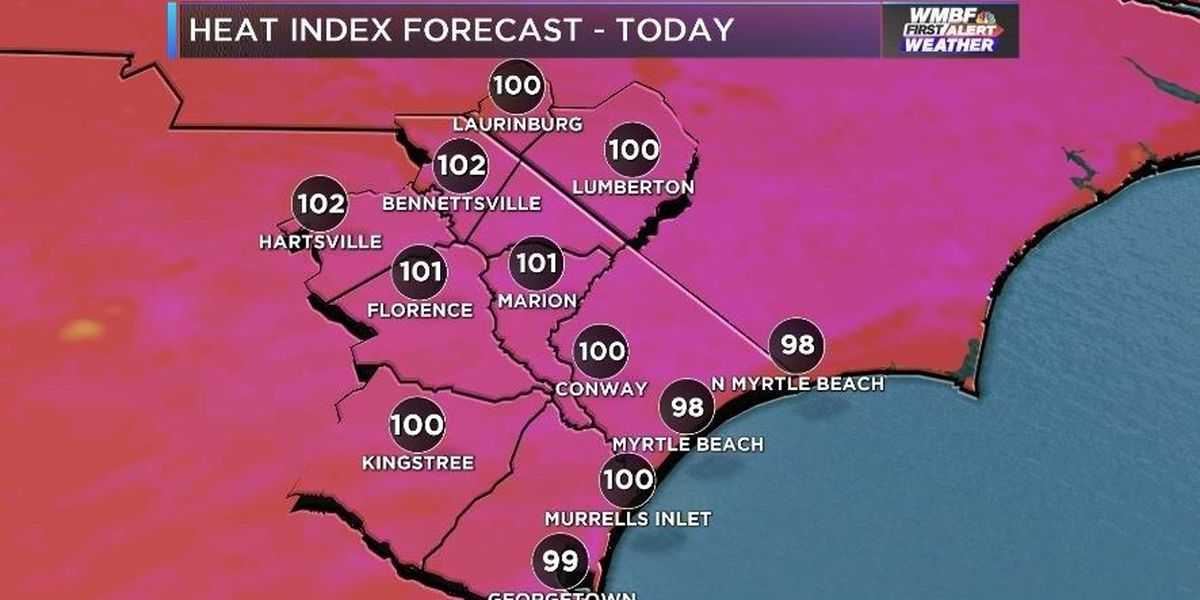 FIRST ALERT: Hot today, even hotter tomorrow