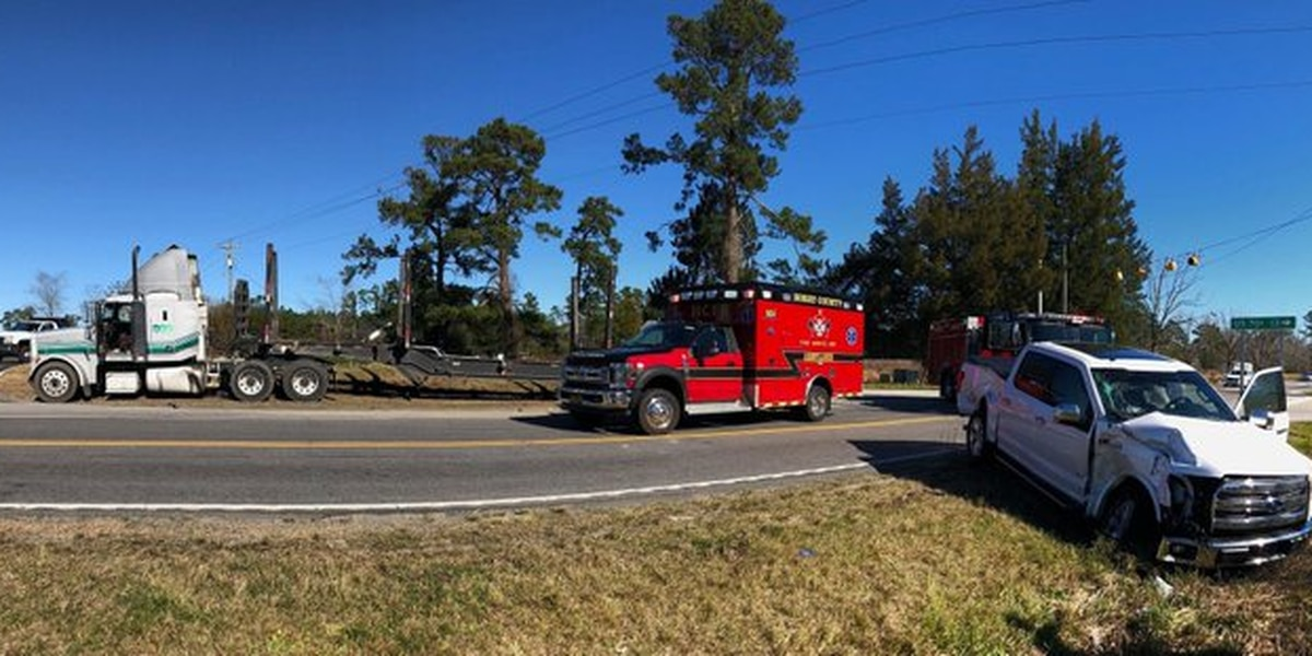 One injured in crash involving tractor-trailer on Hwy. 378