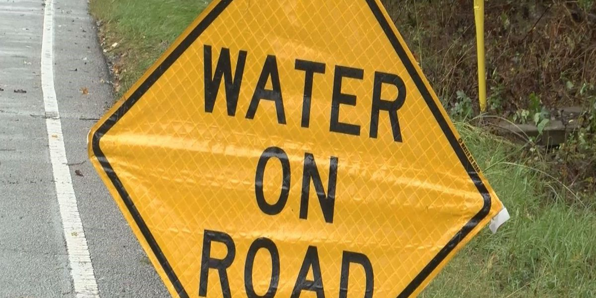Roadway flooding reported in Conway
