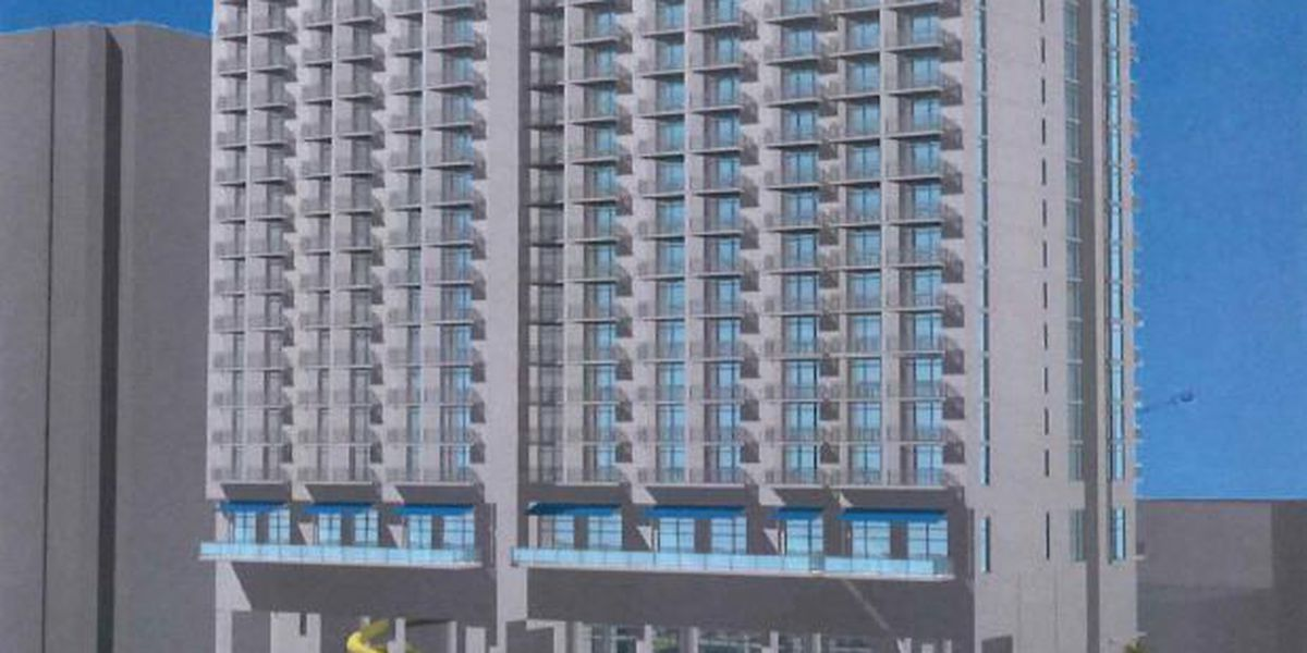 Plans submitted for 20-story oceanfront hotel near 6th Avenue North