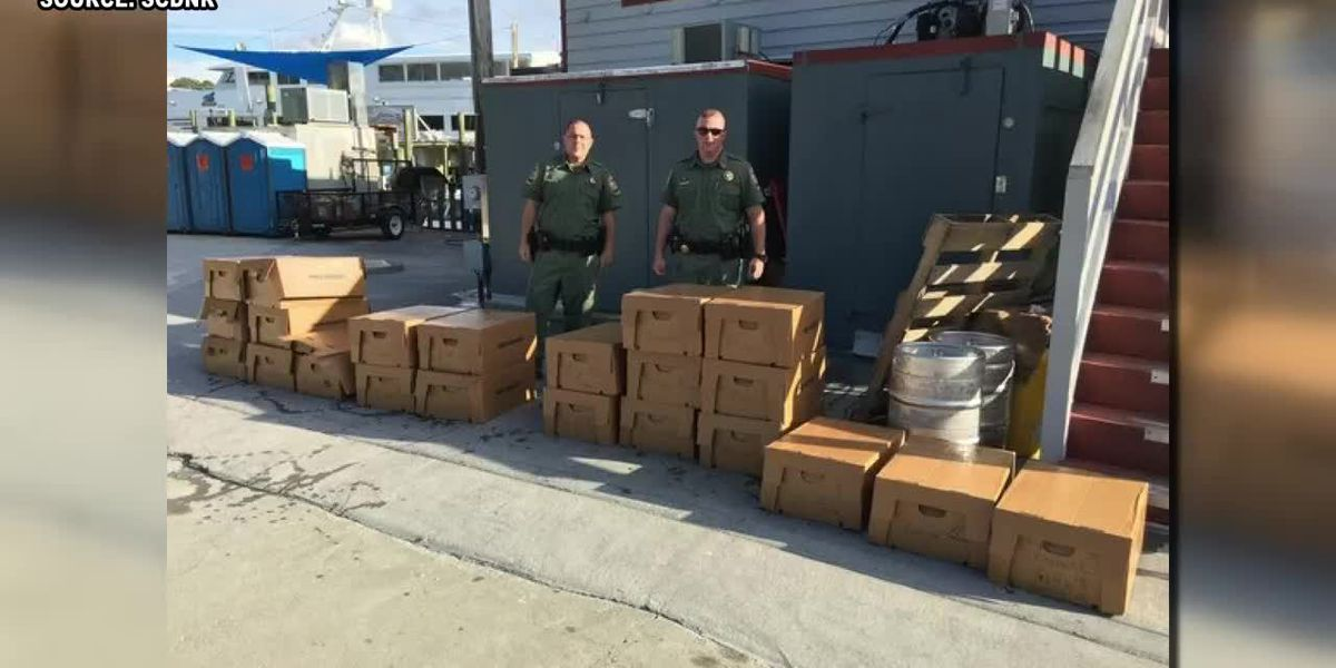 SCDNR seizes over 1,000 pounds of fish
