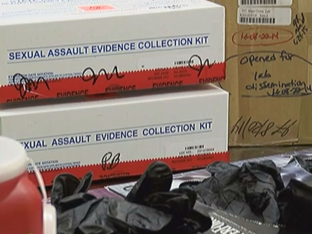 Thousands of rape kits remain untested across the country