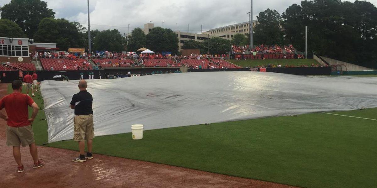 CCU-NC State postponed in ninth inning