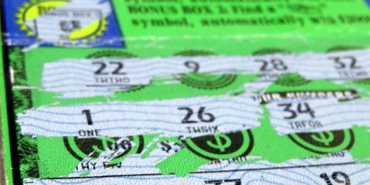 SC woman wins $300,000 from scratch-off ticket