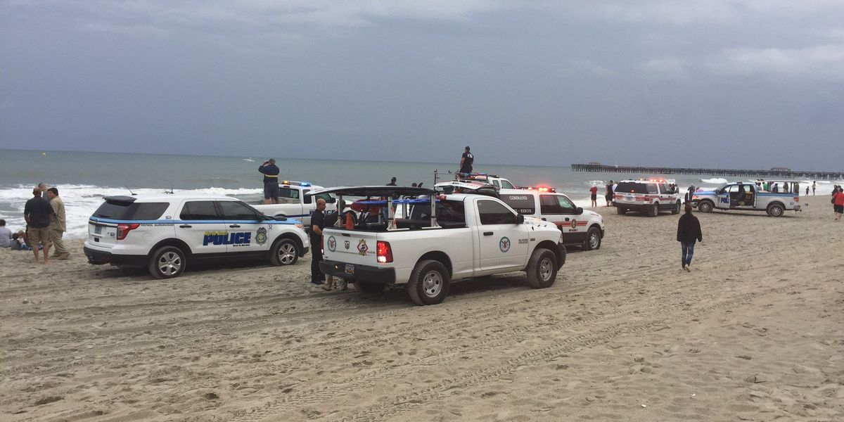 UPDATE: Search underway for missing swimmer in Myrtle Beach area