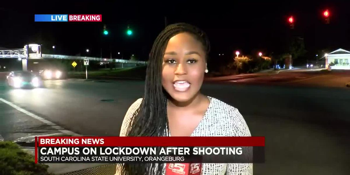 VIDEO: SC State remains on lockdown hours after early-morning shooting on campus