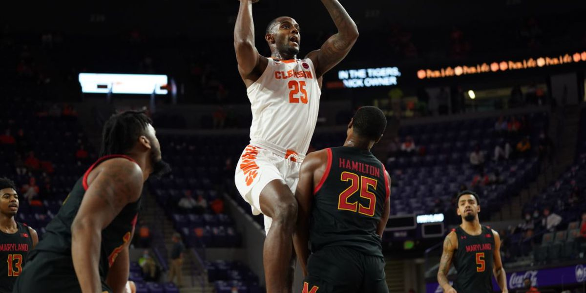 Clemson locks down Maryland 67-51 in ACC/Big Ten Challenge
