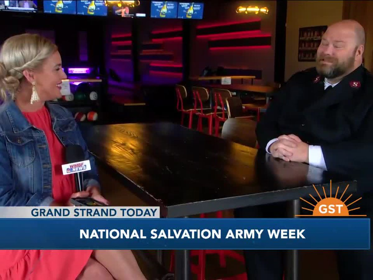 It's National Salvation Army Week!